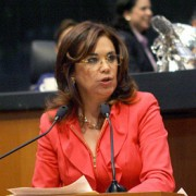 Senadora Blanca Alcalá