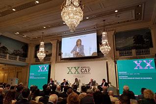 XX Conferencia anual del Banco de Desarrollo de América Latina (CAF)