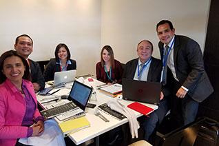 Reunión técnica de coordinación MEN - CPE - OEA Virtual Educa