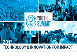 Youth Summit 2017: Technology and Innovation for Impact