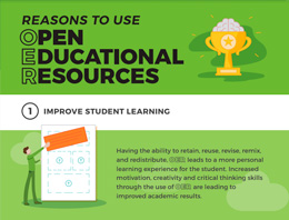 Reasons to use Open Education Resources