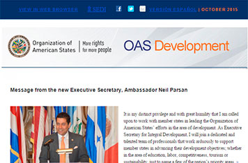 OAS and Virtual Educa Take Education to Children in the Colombia-Venezuela Border