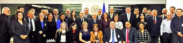 Reunión del Consejo Directivo de Virtual Educa 2016, en la sede de la OEA
