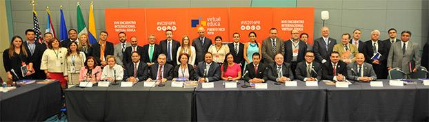Reunión del Patronato de Virtual Educa, en el marco del XVII Encuentro