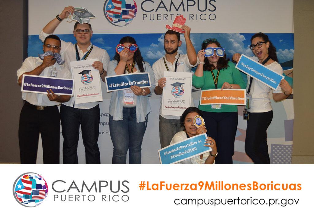 Campus Puerto Rico: estudiar es triunfar