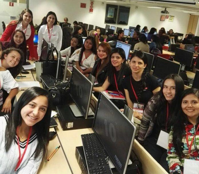 Mujeres en las TIC, Colombia 2016