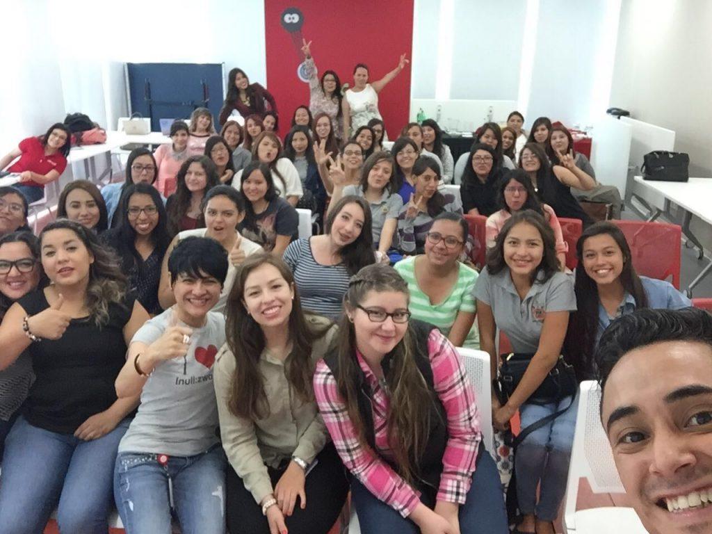 Mujeres en las TIC 2106, en México