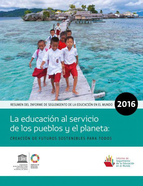 La educación al servicio de los pueblos y el planeta – Creación de futuros sostenibles para todos