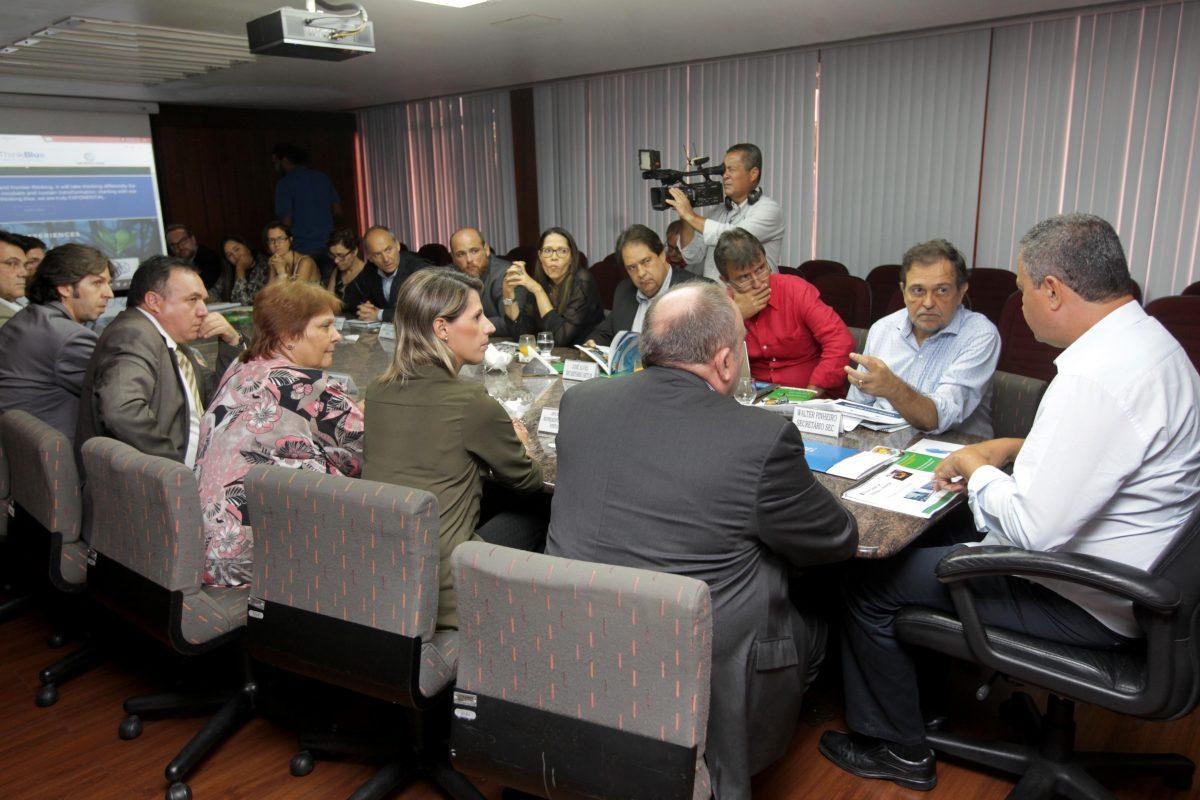 Apresentação do Virtual Educa na Bahia: inovação educativa e economia sustentável