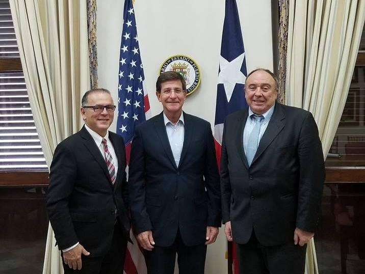 Reunión en el Departamento de Estado del Gobierno de Puerto Rico