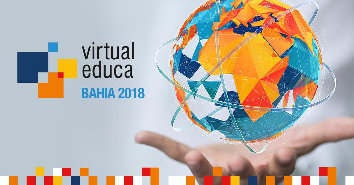 Virtual Educa Bahia 2018 terá apresentações de pesquisadores brasileiros e estrangeiros