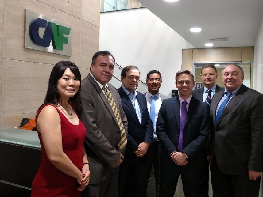 Reuniões institucionais em Brasília