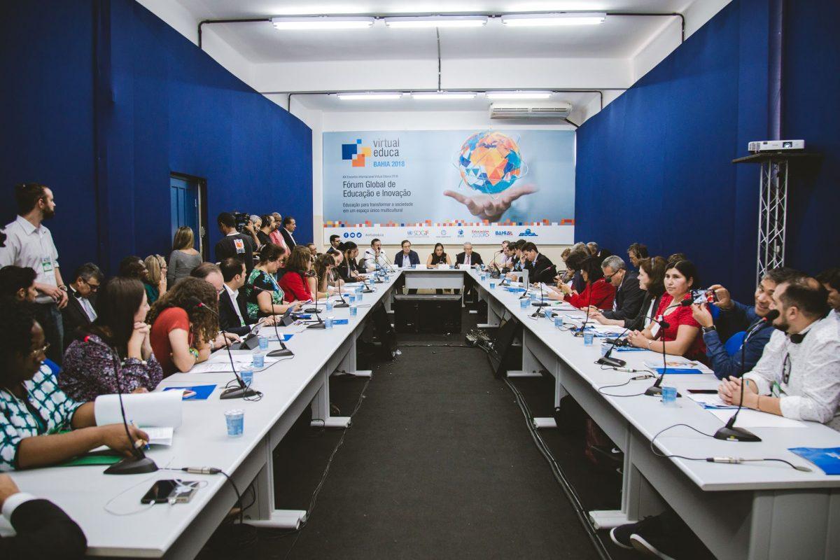 Fórum Global debate cooperação multilateral em Educação e Inovação