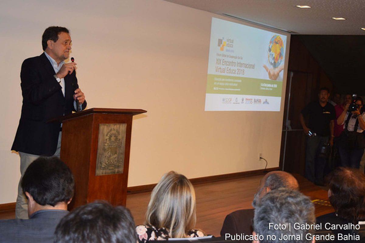 Virtual Educa Bahia 2018 inicia com educadores do Brasil, Caribe, da América Latina e da África