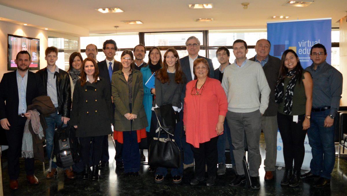 Socios corporativos de Virtual Educa se reunieron en Buenos Aires