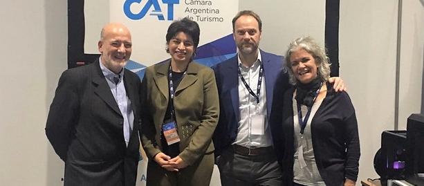 Activa participación de la Cámara Argentina de Turismo en Virtual Educa 2018