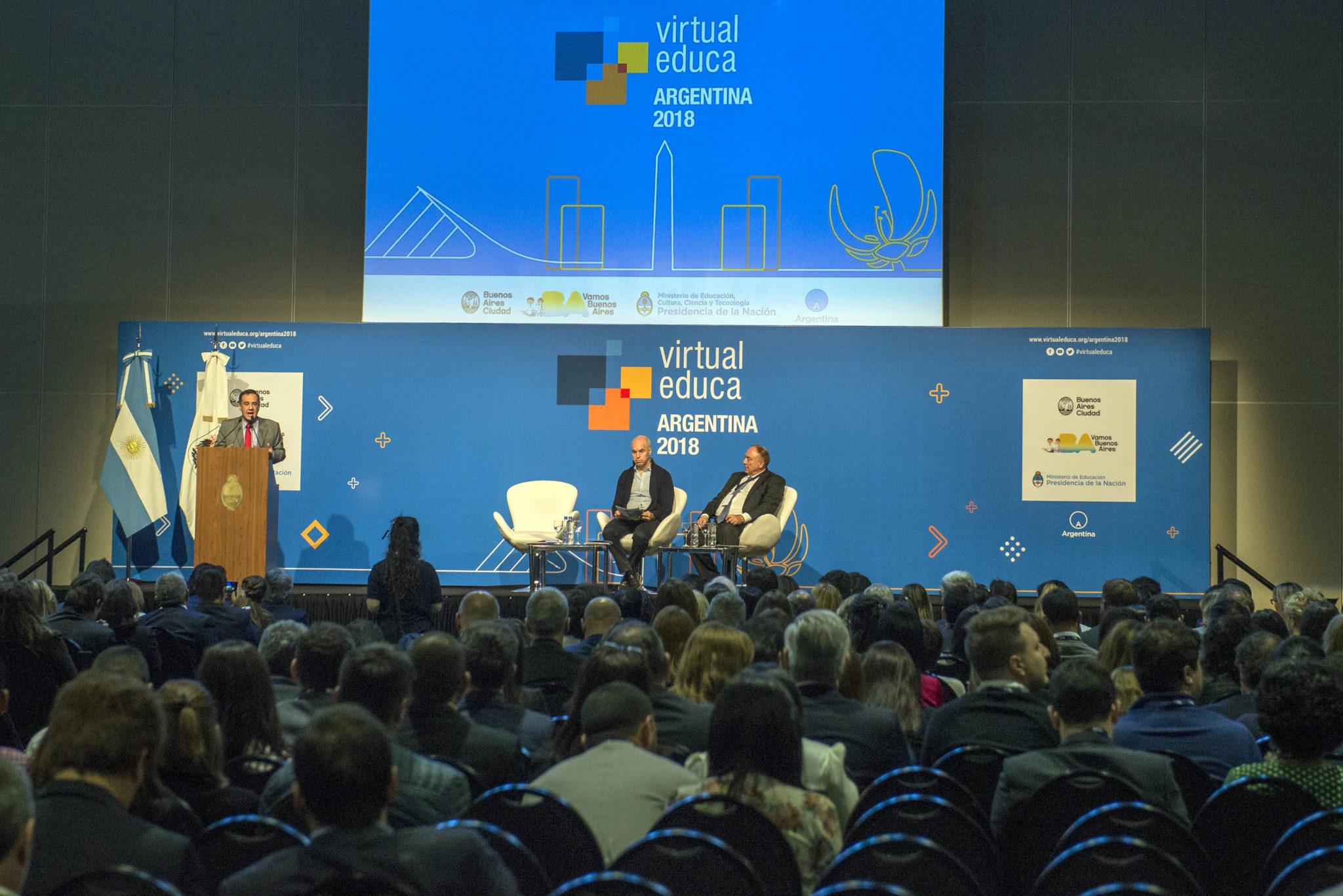 Abrió sus puertas el Encuentro Internacional Virtual Educa Argentina, referente mundial en innovación educativa