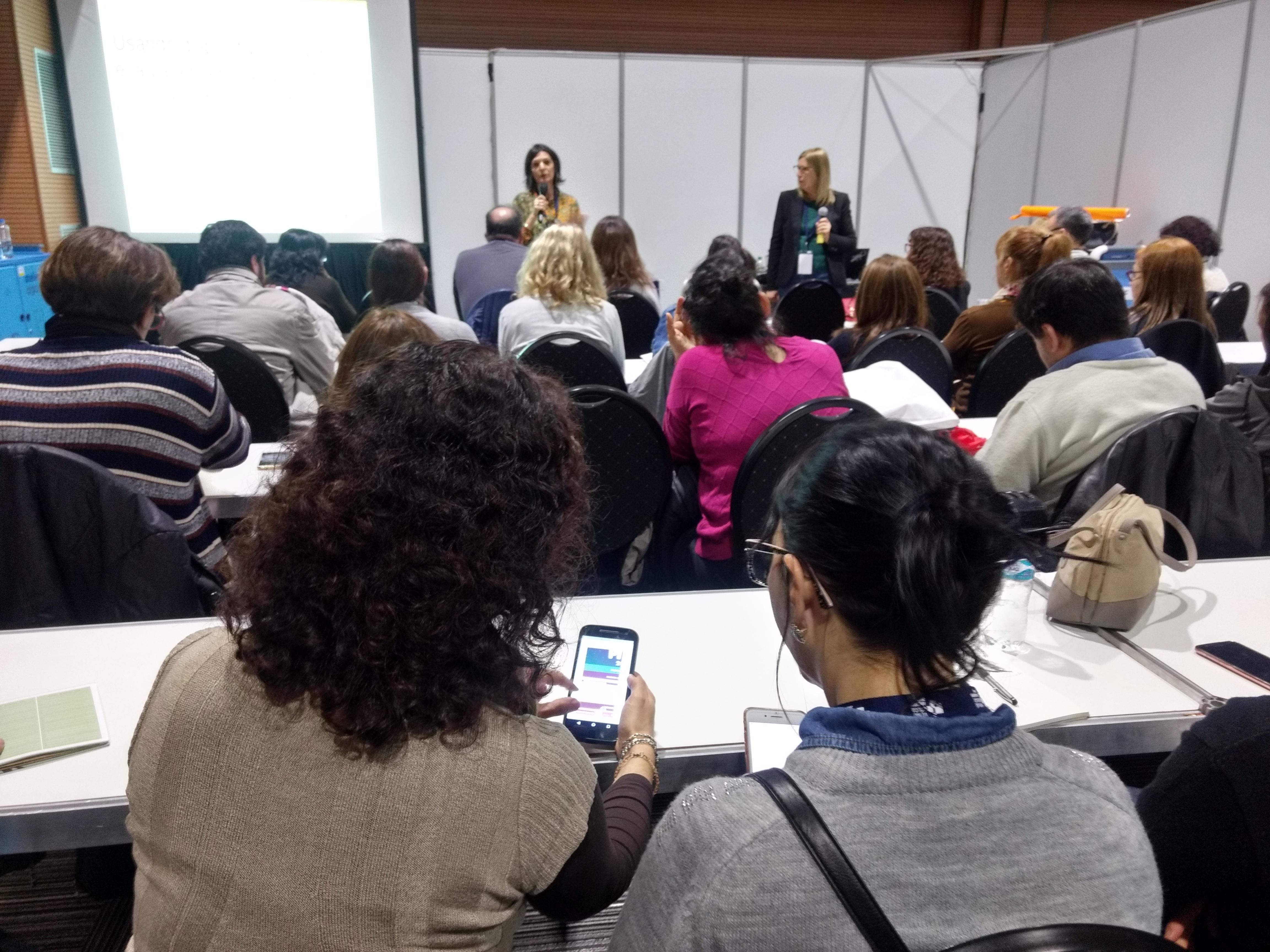 Escuela de Maestros ofreció talleres en Virtual Educa 2018