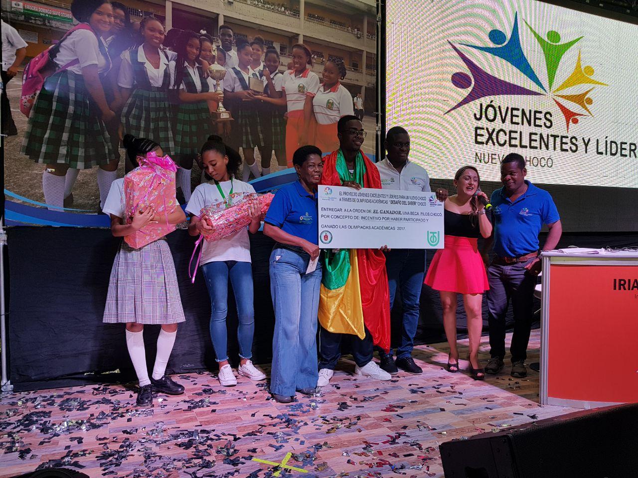 Gran final de las Olimpiadas Académicas - Desafío del Saber Chocó 2018