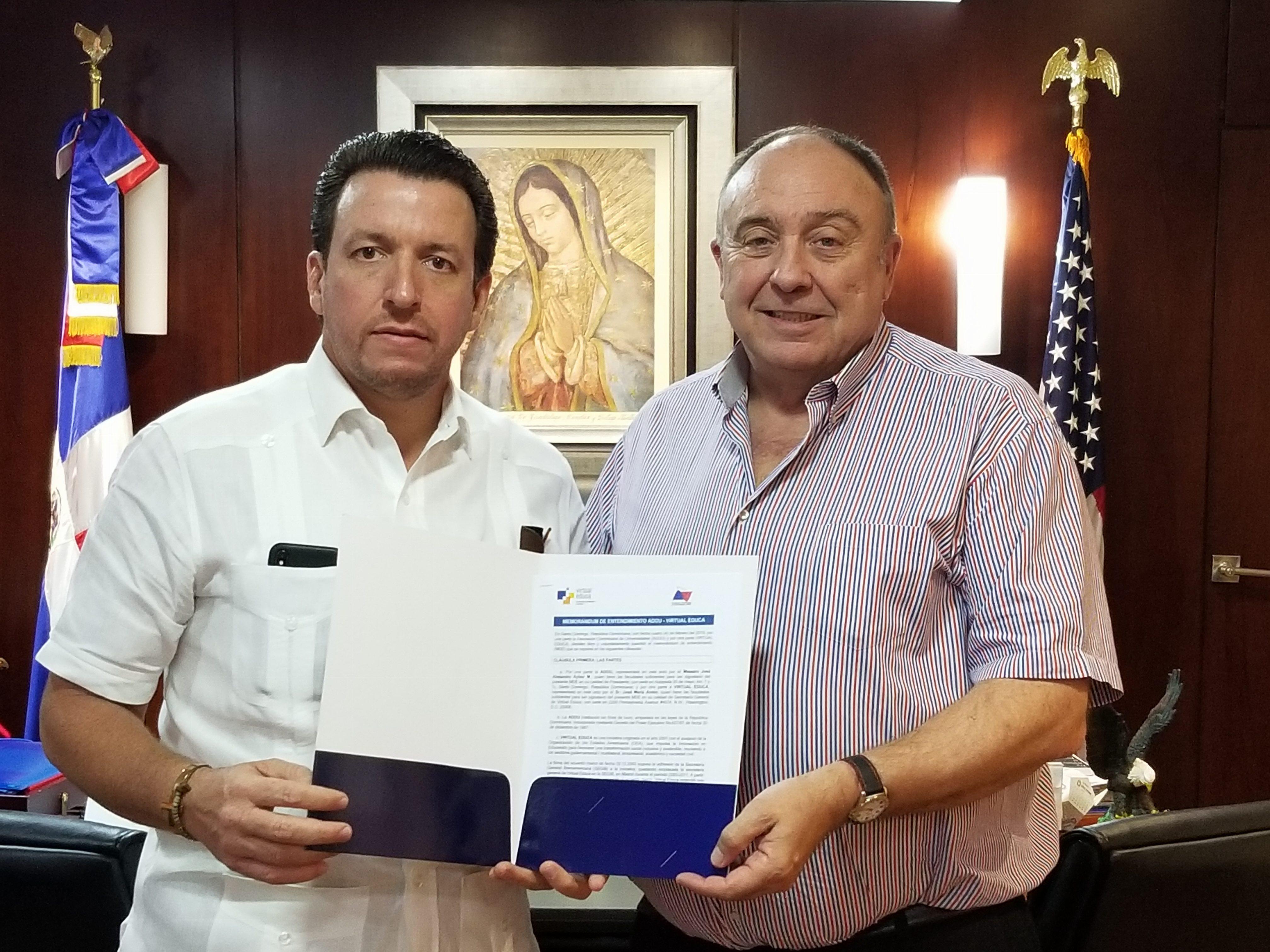 La Asociación Dominicana de Universidades y Unicaribe se suman al proyecto Universidad 2030