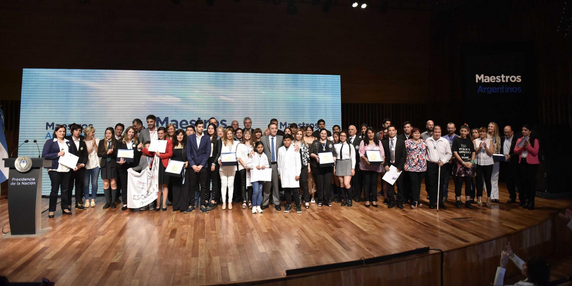 Abierta la inscripción para los premios Maestros Argentinos 2019