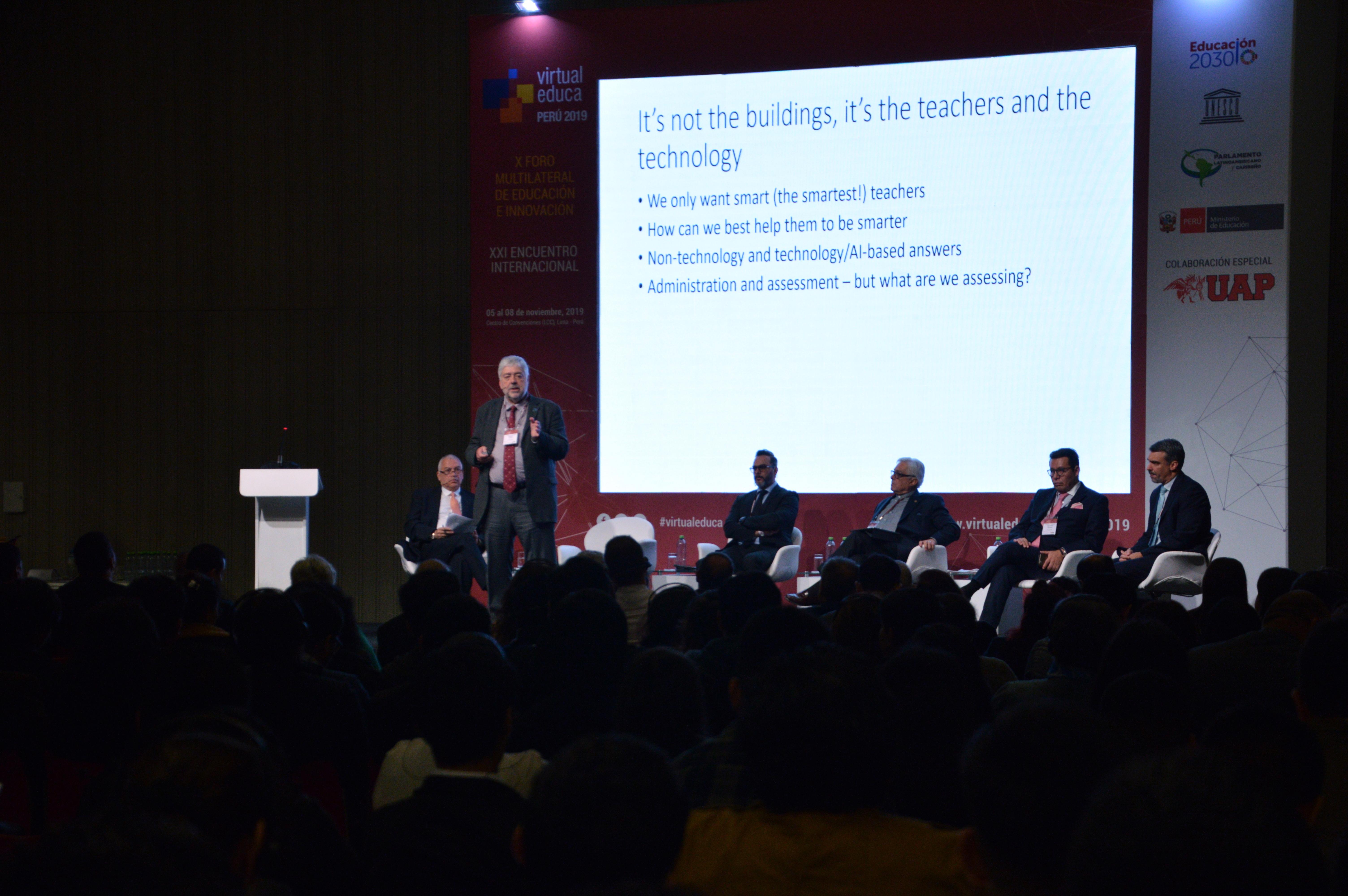 X Foro Multilateral de Educación e Innovación Virtual Educa inicia la próxima semana en Perú