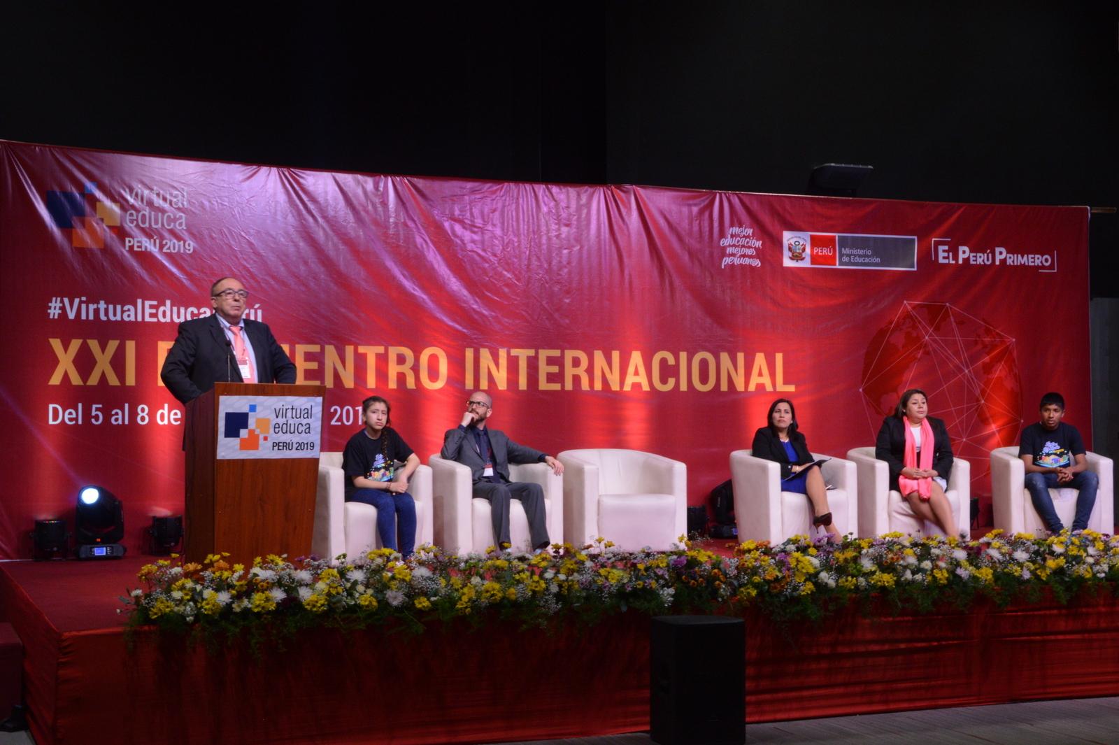 Inició en Lima el Encuentro Internacional Virtual Educa Perú 2019