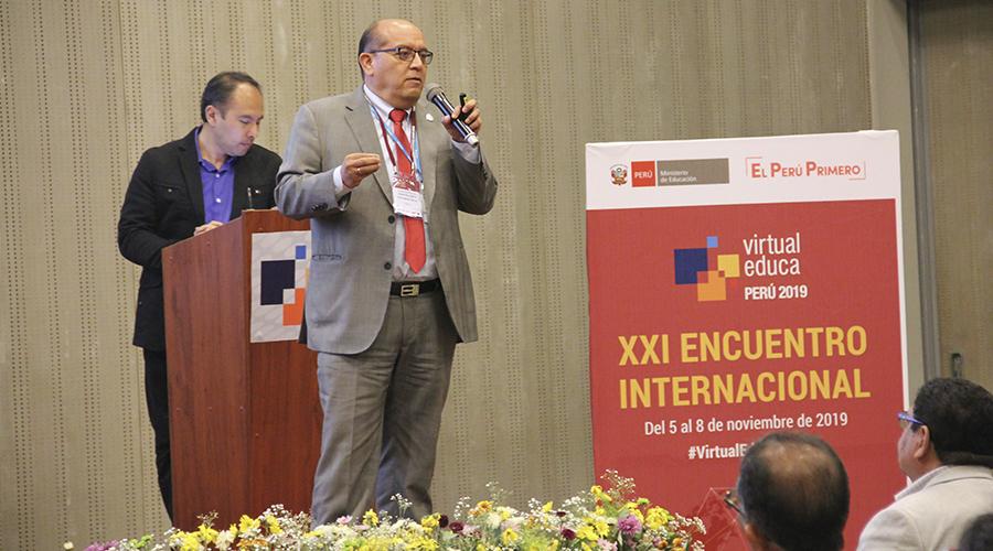 SINEACE participa del XXI Encuentro Internacional Virtual Educa Perú 2019