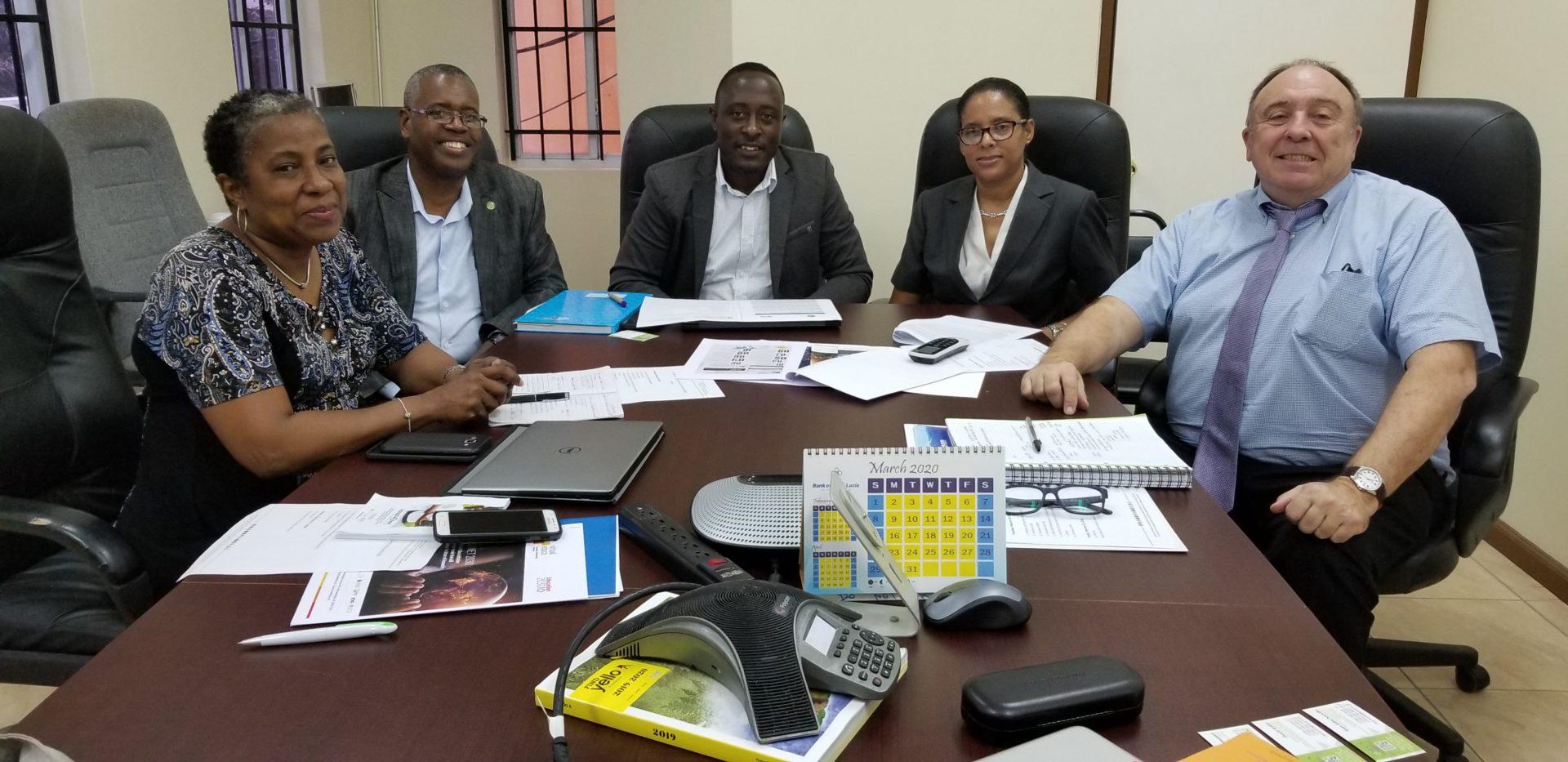 Iniciativa Think Blue de Virtual Educa se reunió en Saint Lucia