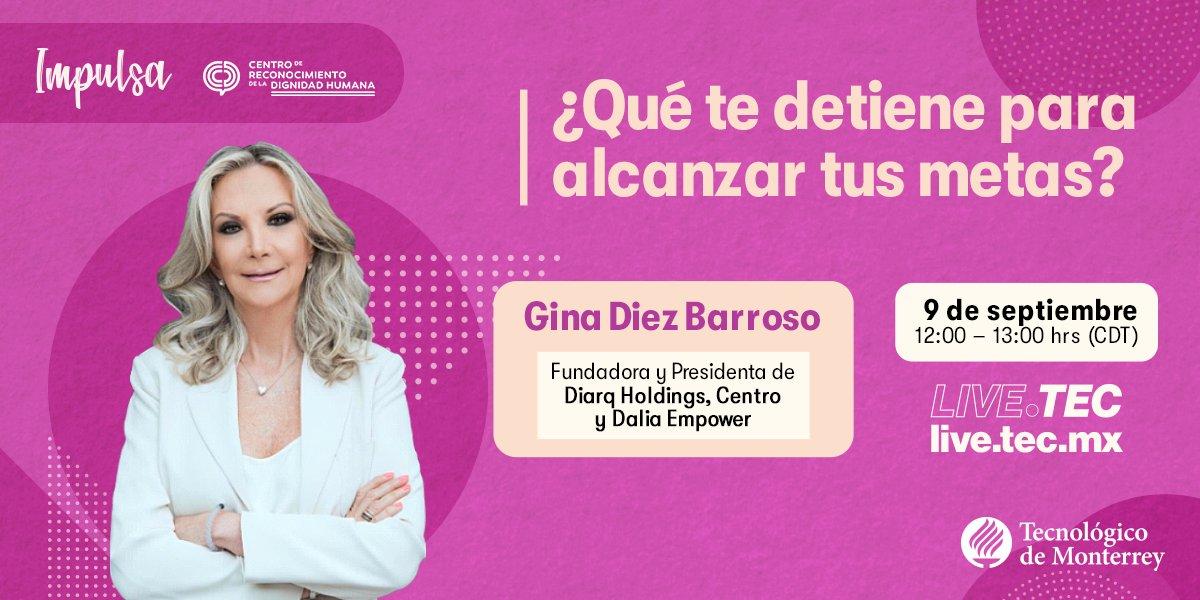 Conferencia: Gina Diez Barroso en el TEC …